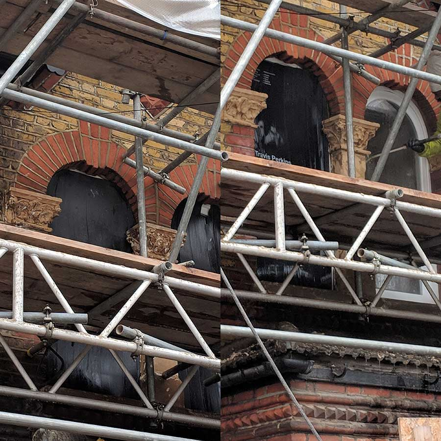 Artem Restoration | Gallery | Brick and stone cleaning