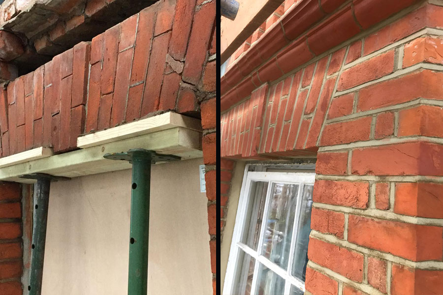 Artem Restoration | Case Study | Brick cleaning and restoration | Gallery